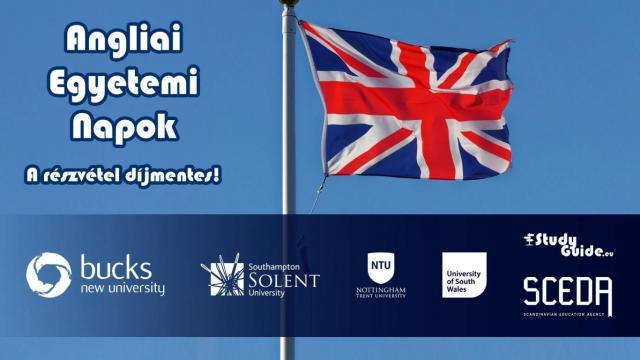 Angliai Egyetemi Napok - 4 brit egyetem online előadása