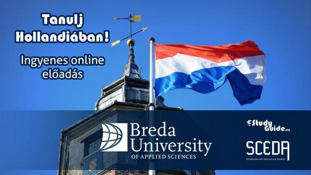 Breda University of Applied Sciences online előadás - Tanulj Hollandiában Napok