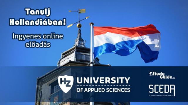 HZ University of Applied Sciences online előadás - Tanulj Hollandiában Napok