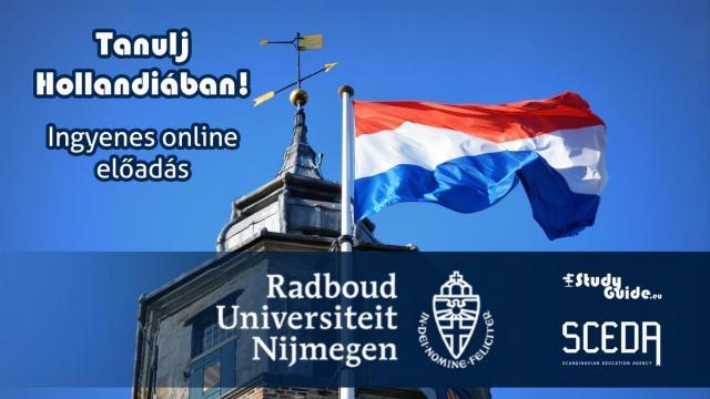 Radboud University online előadás - Tanulj Hollandiában Napok