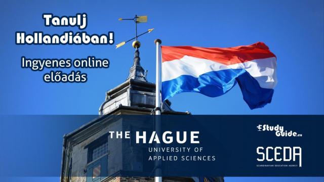 The Hague University of Applied Sciences online előadás - Tanulj Hollandiában Napok