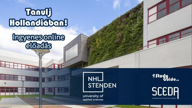 NHL Stenden University of Applied Sciences online előadás - Tanulj Hollandiában Napok